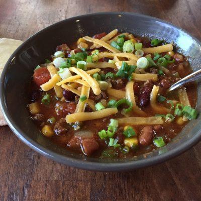 A Recipe: Taco Soup