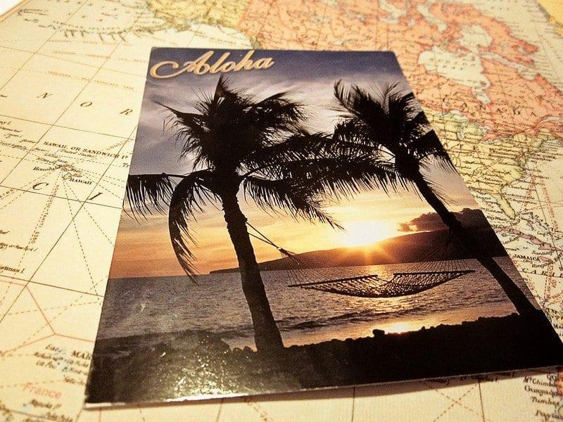 Postcard Swap: Aloha!
