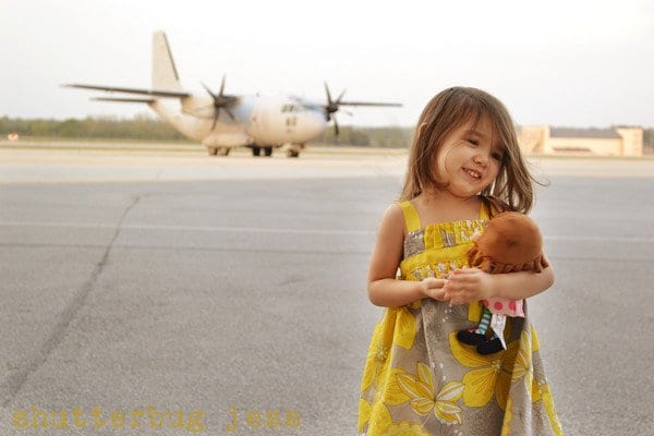 Wordless Wednesday: Military Homecoming