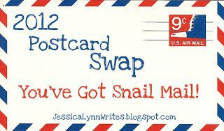 You've Got Snail Mail: Postcard Swap 2012 LINK UP!