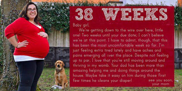 Bumpdate: 38 Weeks