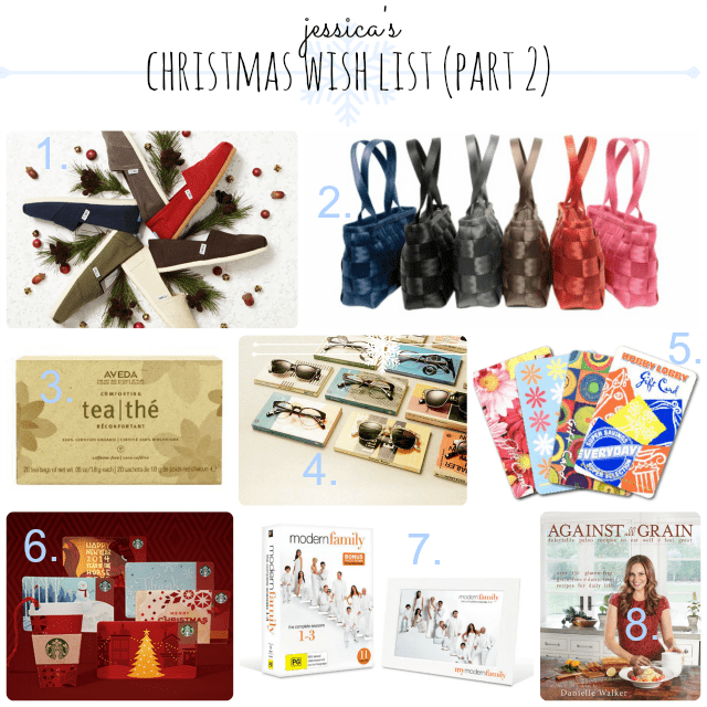 My Christmas Wish List {part two}