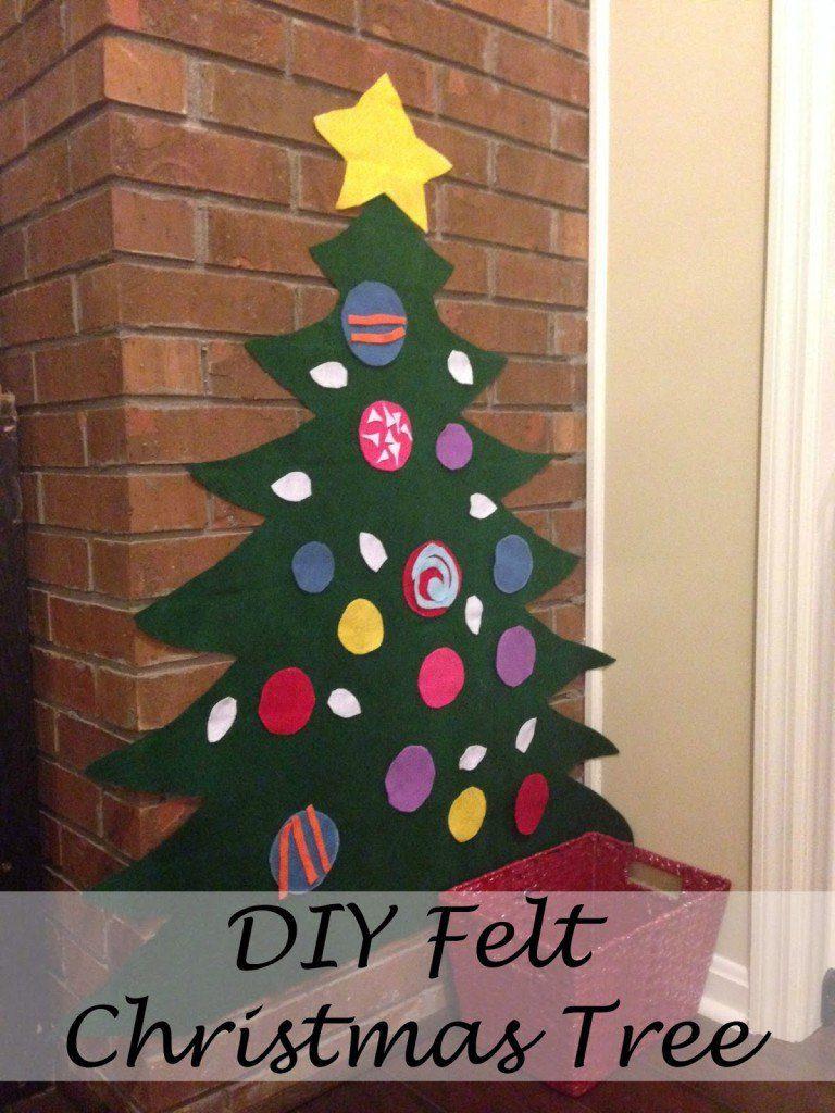 DIY Felt Christmas Tree for Toddlers - Jessica Lynn Writes