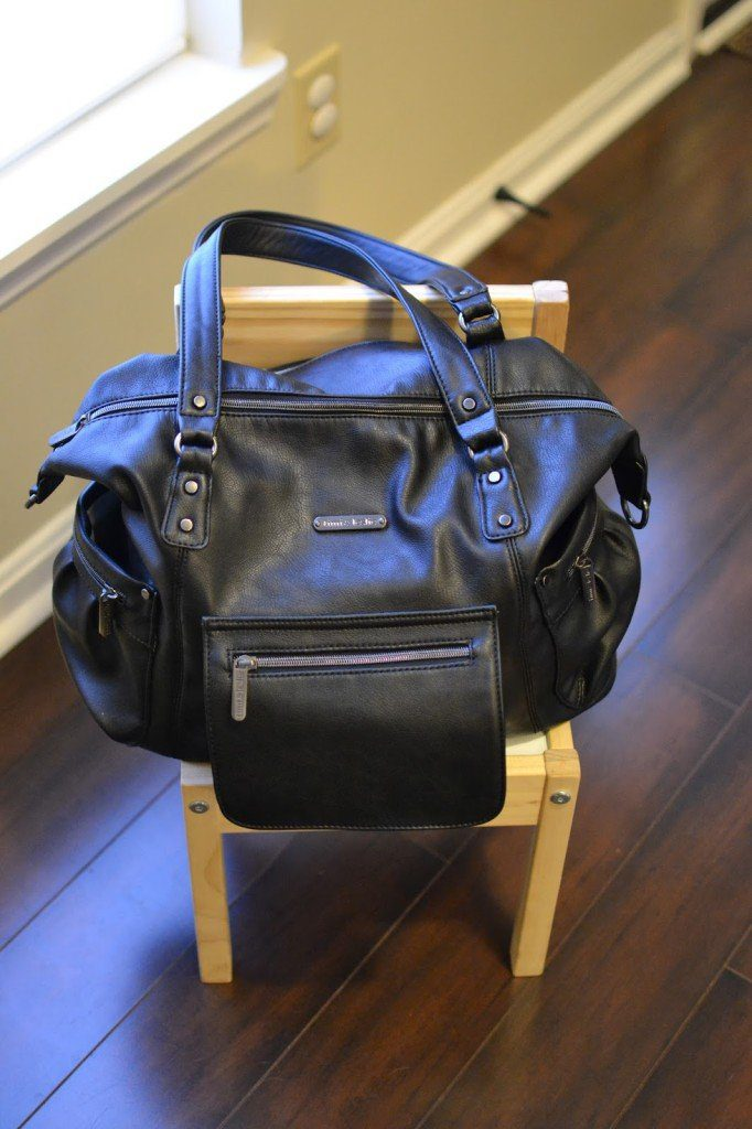 timi leslie abby diaper bag review jessica lynn writes. Black Bedroom Furniture Sets. Home Design Ideas