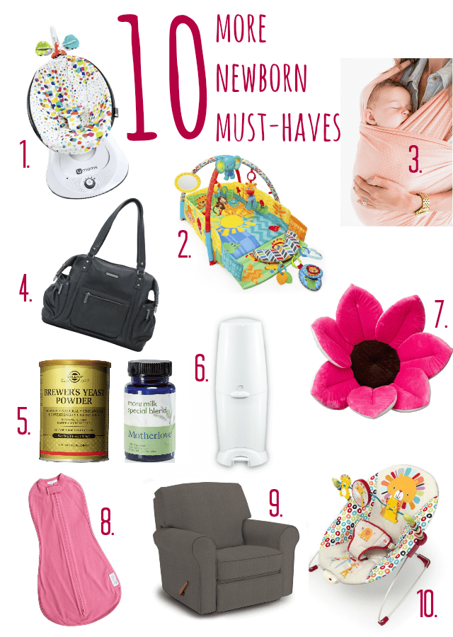 10 More Newborn Must-Haves