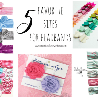 5 Favorite Sites for Headbands