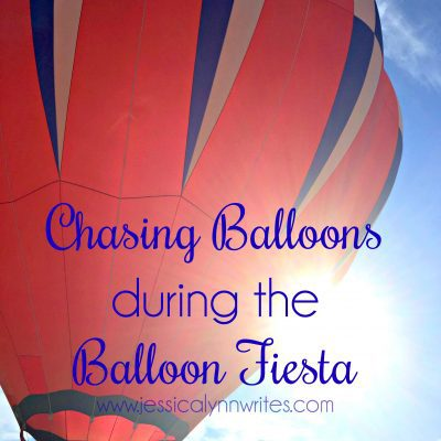 Chasing Balloons During the Balloon Fiesta