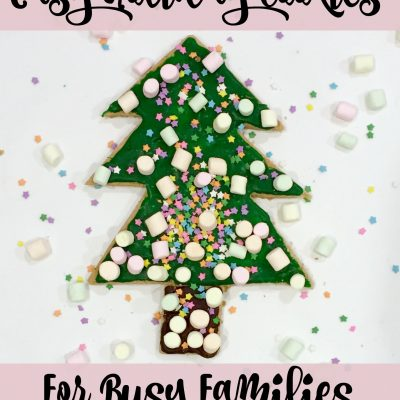 Easy Holiday Cookies for Busy Families