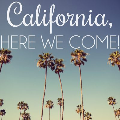 We're Moving to San Diego!