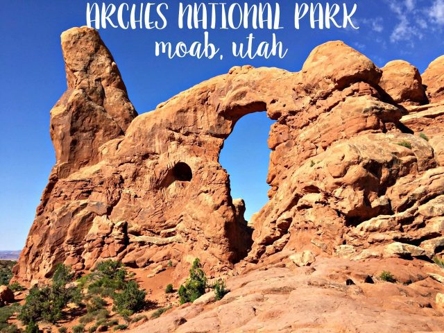 Get your bucket list out, and make sure Arches National Park in Moab, Utah, is on it! See stunning natural arches around almost every corner!