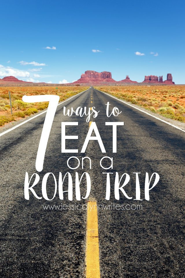 If you think fast food is your only food option on a road trip, think again! Here are 7 different ways to fill up and eat on a road trip.