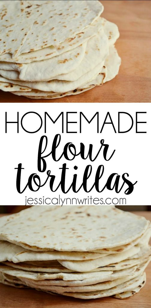 Sure, the packaged processed tortillas are fine in a pinch, but if you want taste something completely satisfying, try some homemade flour tortillas ASAP! | jessicalynnwrites.com