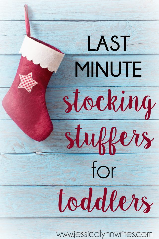 Not quite done Christmas shopping, and need a few last-minute stocking stuffers for toddlers in your life? Here's what to get!