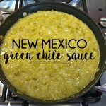 Green Chile Sauce {a recipe}
