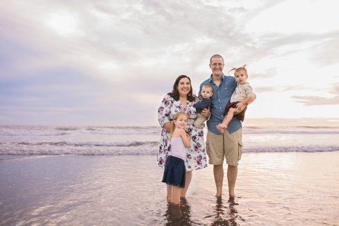 Family Pictures at the Beach