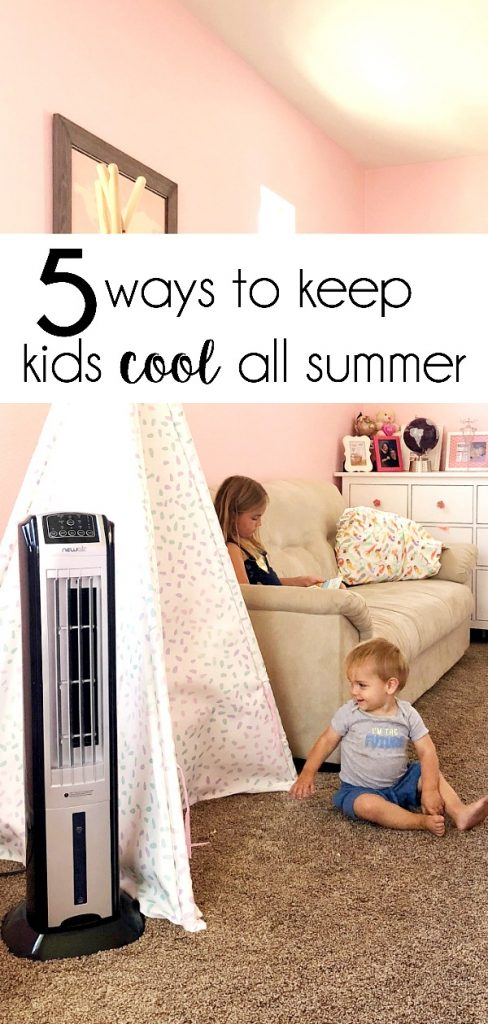 The temps are scorching, so here are several things you can do to keep kids cool all summer long—no beach required.