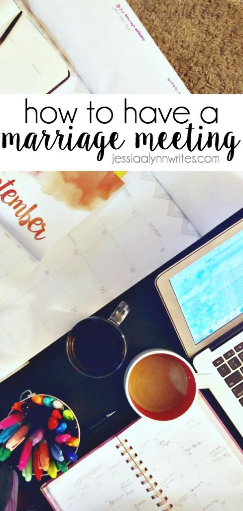 Life is busy, and it's not slowing down any time soon. Here's how a marriage meeting can help you get on the same page with your spouse and your family.